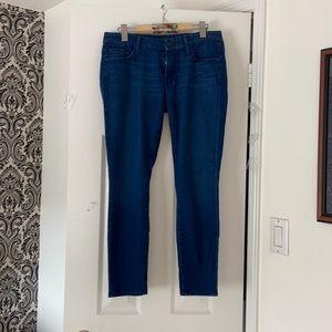 blue jeans crop